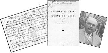 Buenaventura N. Vita, historiador de 9 de Julio