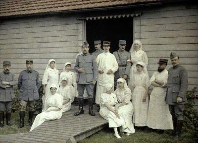 El instalación del primer hospital en 9 de Julio